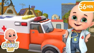 Video Rescue Toys Ambulance - Kids toys unboxing kindergarten  - Surprise Eggs Toys from Jugnu Kids MP3, 3GP, MP4, WEBM, AVI, FLV Juli 2017