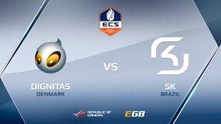 SK vs dignitas, overpass, ECS Season 2 Finals