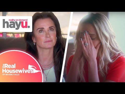 Kyle Is Confronted About Her Behaviour | Season 10 | Real Housewives Of Beverly Hills