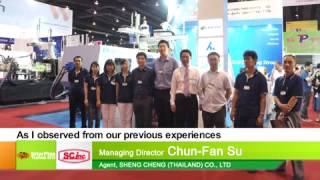 InterPlas Thailand 2013 Interview With Agent sheng Cheng Thailand Co.,Ltd.