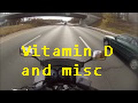 Ride to King George – newb on interstate, Christmas, Vitamin D & misc