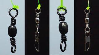 Video Fishing Knot/How To Tie A Swivel(4 Swivel Knots) MP3, 3GP, MP4, WEBM, AVI, FLV Agustus 2019