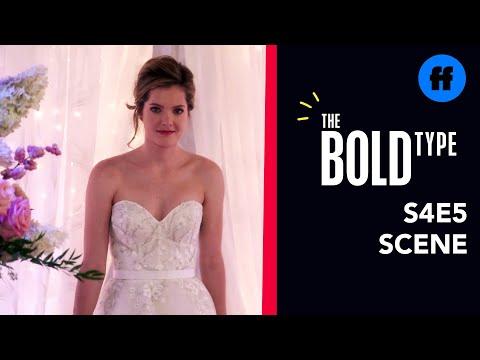 The Bold Type Season 4, Episode 5   Sutton Tries On Wedding Dresses   Freeform