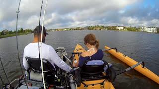 (NEW) Fishing with WIFE 2017 Hobie Island!