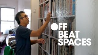 The interior design of this offbeat space is sure to inspire some room ideas. James Hong's home and office fit in a 500 Sq. ft.