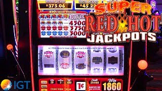 "http://www.thisweekingambling.com/super-red-hot-jackpots-slot-machine-igt/ - We preview a HOT new addition of a player favorite from IGT! It's the Super Red Hot Jackpots Slot Machine, a 5-reel, 20-payline game!This 5 Reel 20 Line Multi-Level Progressive slot game is delivered on their S3000 game cabinet, and comes with a variety of stepper base game themes and paytables! Super Red Hot Jackpots also comes in three different themes: Jackpot 7s Slots, Sizzling 7 Slots and Double Sizzling 7s Slots! Super Red Hot Jackpots also boasts a 4 Level Linked Progressive Meters with ""Live"" jackpot amounts, you can read about all of this slot machine's features when you visit IGT's information page: https://www.igt.com/games/super-red-hot-jackpots-sizzling-7-5r20l450c-s-ascent-multi-level-progressive-r0a"