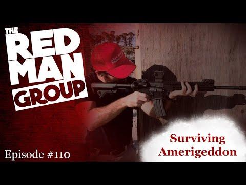 The Red Man Group Ep. #110 — Surviving Amerigeddon