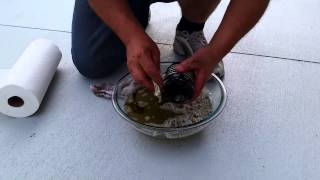 6. How to change the oil on a VROD