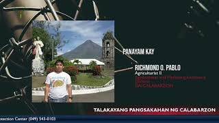 Episode 46 with AMAD Agriculturist II Richmond Pablo