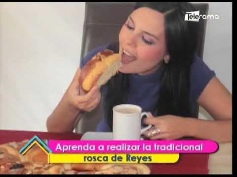 Aprenda a realizar la tradicional rosca de Reyes
