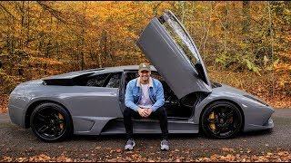 SPECIAL DRIVE in my LOUD Lamborghini Murcielago LP640 by Supercars of London