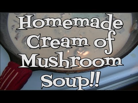 Homemade Cream of Mushroom Soup Recipe ~ Noreen's Kitchen Basics
