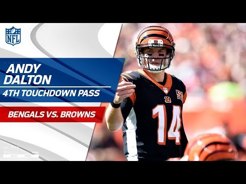 Video: Andy Dalton Racks Up His 4th TD Pass Against Cleveland! | Bengals vs. Browns | NFL Wk 4 Highlights