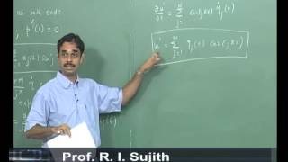 Mod-01 Lec-23 Lecture 23 : Galerkin Technique For Thermoacoustics