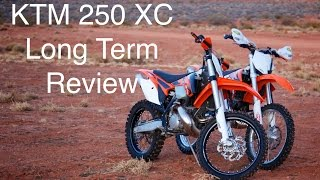 6. KTM 250 XC Long Term Review