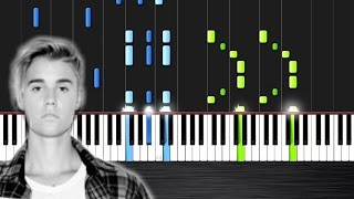 Justin Bieber - Sorry - Piano Cover/Tutorial Ноты и М�Д� (MIDI) можем выслать Вам (Sheet music for p