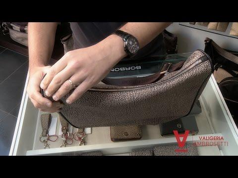 Luna bag Borbonese (video tutorial)