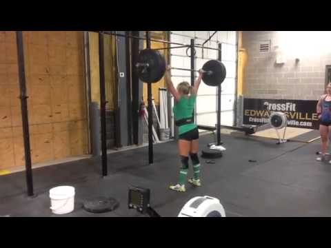 Sarah Stock – Overhead Squat