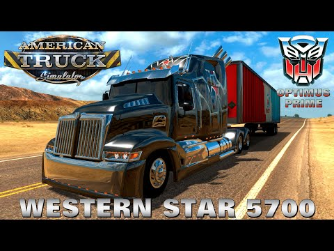 Wester Star 5700 Optimus Prime for ATS version 1.3.х