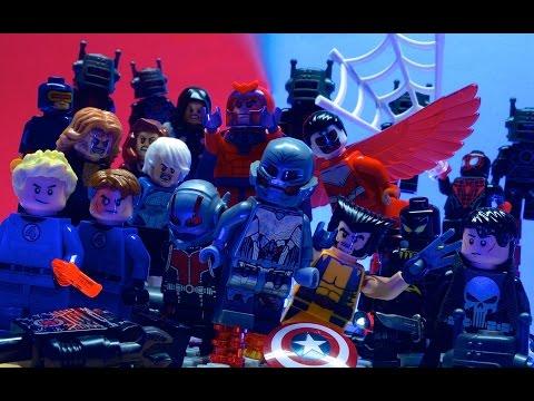 Lego Avengers - EXTRACTION (PART 1/2) (видео)
