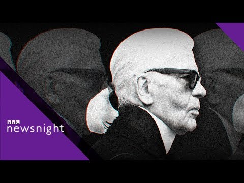 Alexandra Shulman remembers Karl Lagerfeld - BBC Newsnight