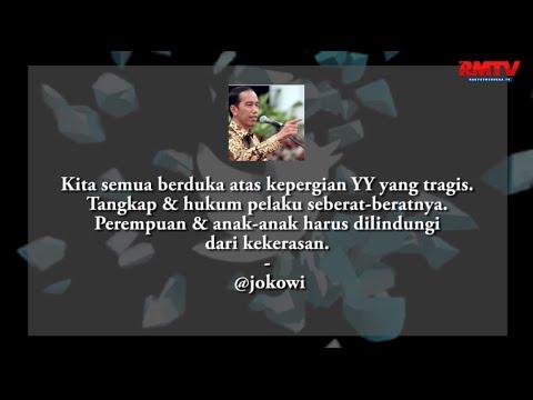 Kasus Yuyun, Jokowi: Hukum Pelaku Seberat-beratnya