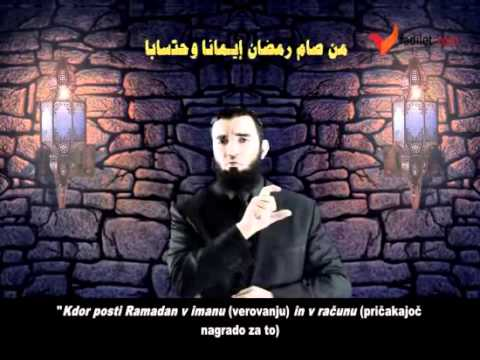 Kdor posti Ramadan v imanu