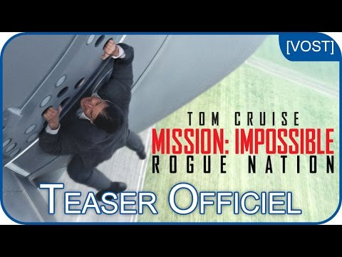 Mission:Impossible Rogue Nation - Bande-annonce 1 [VOST]