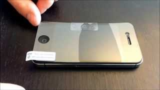Install screen protector without bubbles - YouTube