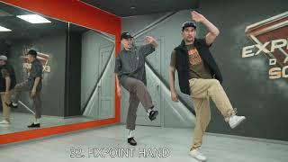 Maximus & Nikki Pop – 50 FRESNO variations / Popping dance tutorial