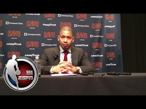 Video: Tyronn Lue gives update on Tristan Thompson's calf strain | NBA on ESPN