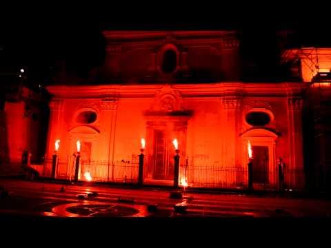 Luminaria di San Domenico 2012 - Festa Barocca (видео)