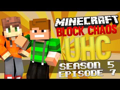 Minecraft Block Chaos UHC Season 5: E7 - No More Healing