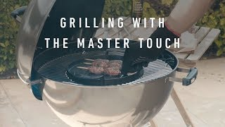 The Weber Master-Touch GBS In Smoke Grey