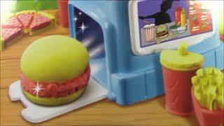 Moon Dough  Like Play Doh    Burgers Diner   PlayDough McDonalds Fries Dough Food Hamburguesa de Pla