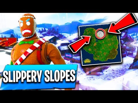 *NEW* SLIPPERY SLOPES Map Location!! ( Fortnite 3.3.0 Update / Concepts )