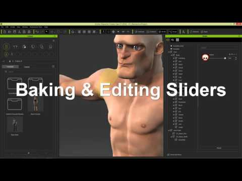 iClone Character Creator Tutorial – Create Custom Morph Sliders for Stylized 3D Characters in v1.4