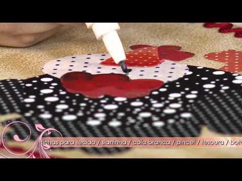 Saiba como decorar um pote com a técnica de patcholagem!