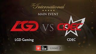 LGD.cn vs CDEC, game 2