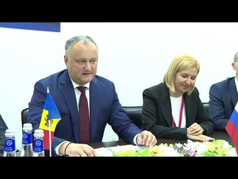Președintele Igor Dodon a avut o întrevedere cu Aleksandr Burkov