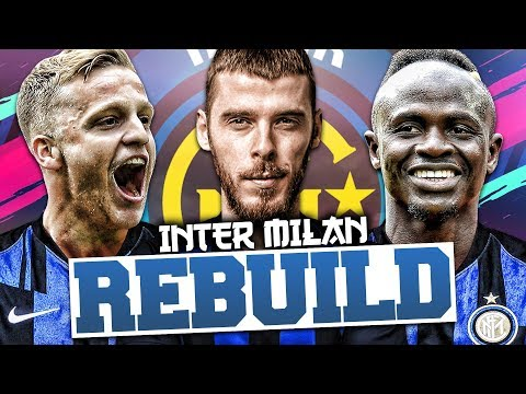 REBUILDING INTER MILAN!!! FIFA 19 Career Mode