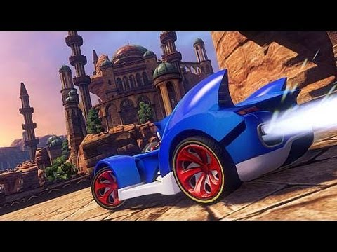 sonic all stars racing transformed xbox 360 gameplay