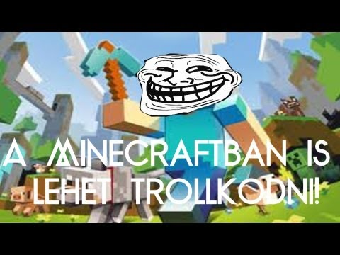 A Minecraftban is lehet trollkodni!