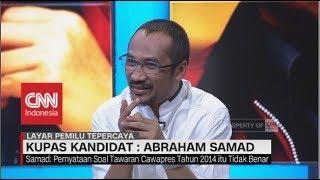 Video Abraham Samad Tegaskan Tidak Pernah Melamar Jadi Cawapres Jokowi - Kupas Kandidat: Abraham Samad MP3, 3GP, MP4, WEBM, AVI, FLV Juni 2018