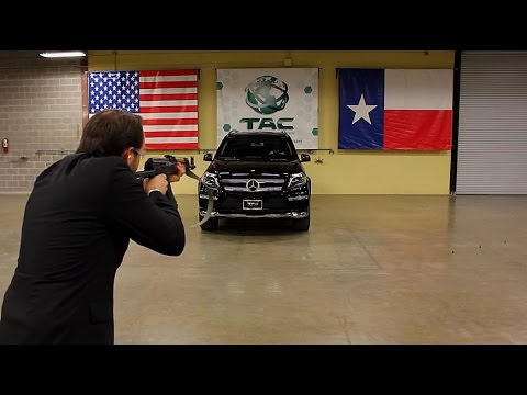 TAC - This Is What It's Like To Be Shot At With an AK 47 in a Mercedes Benz! SLOW MOTION VERSION IN 240 FPS: http://youtu.be/KHWGUQdMReY & PROOF THAT OUR CEO IS NO...