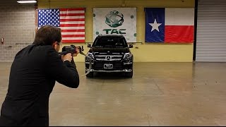 This Is What It's Like To Be Shot At With an AK 47 in a Mercedes Benz! SLOW MOTION VERSION IN 240 FPS: ...
