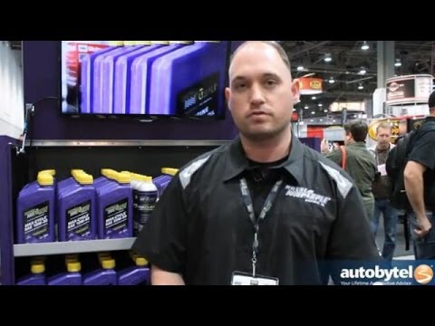 SEMA 2013: The Difference Between Conventional and Synthetic Oil