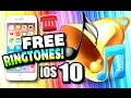 iOS 9 & iOS 10: Get Ringtones on iPhone FREE (NO COMPUTER) (NO JAILBREAK) iPhone 6, iPhone 7, Etc.