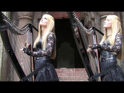 DON'T FEAR THE REAPER (Blue Oyster Cult) Harp Twins - Camille And Kennerly HARP ROCK