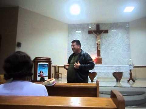 Testemunho de Rovilson Franzoi em Grandes Rios 09/07/2013